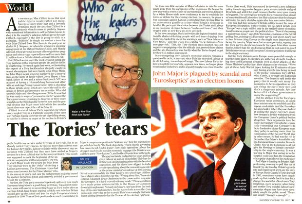 Article Preview: The Tories' tears, January 1997 | Maclean's