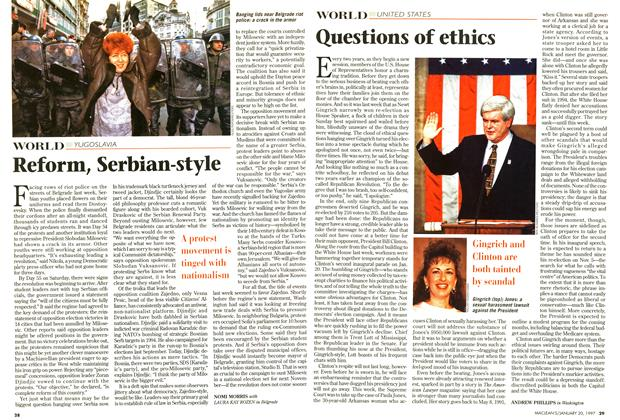 Article Preview: Questions of ethics, January 1997 | Maclean's