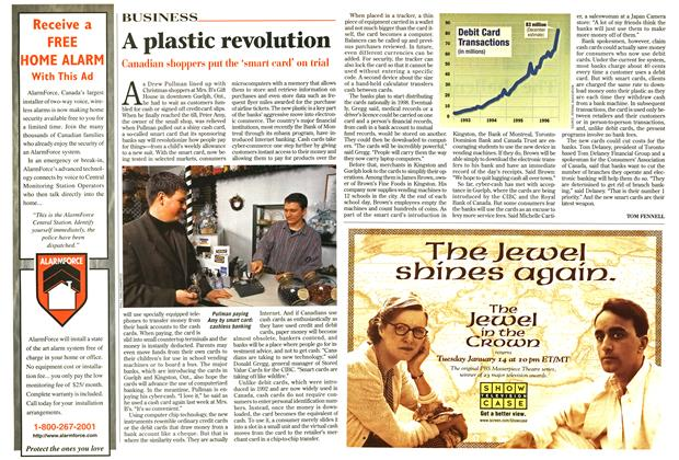 Article Preview: A plastic revolution, January 1997 | Maclean's