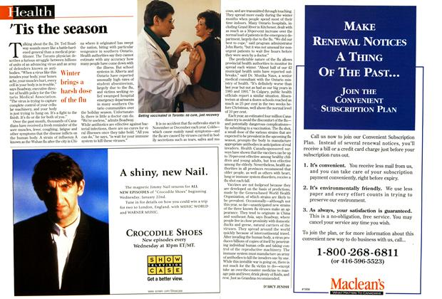 Article Preview: 'Tis the season, January 1997 | Maclean's