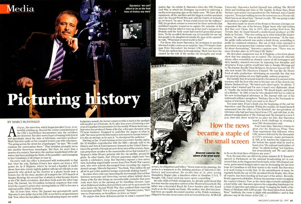 Article Preview: Picturing history, January 1997 | Maclean's