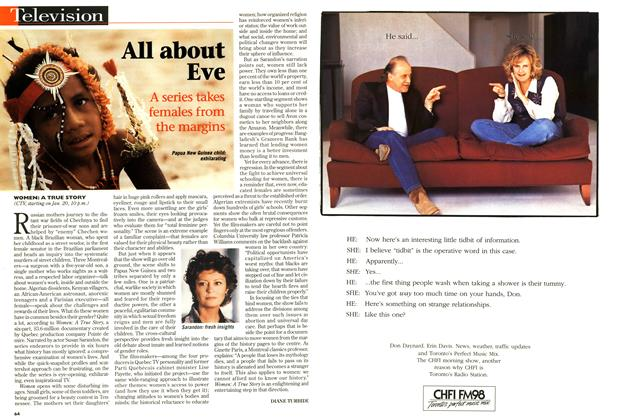 Article Preview: All about Eve, January 1997 | Maclean's