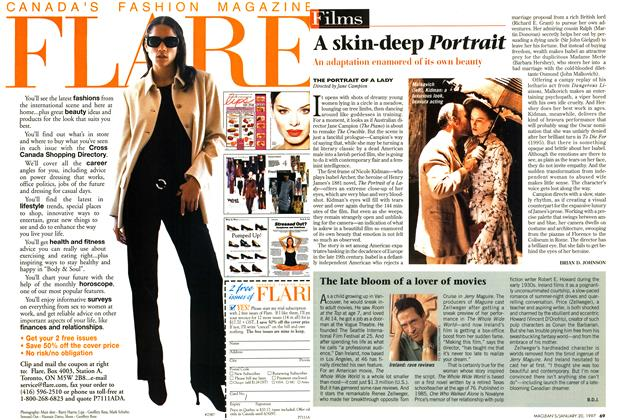 Article Preview: A skin-deep Portrait, January 1997 | Maclean's