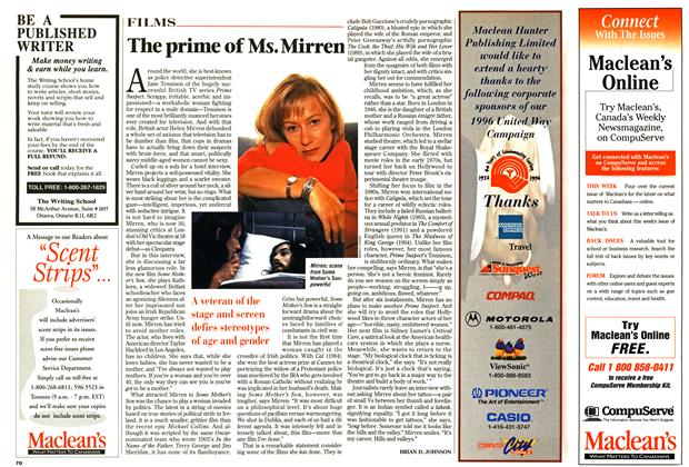 Article Preview: The prime of Ms. Mirren, January 1997 | Maclean's
