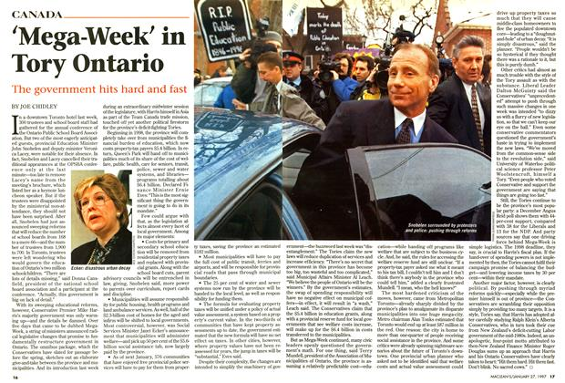 Article Preview: 'Mega-Week' in Tory Ontario, January 1997 | Maclean's