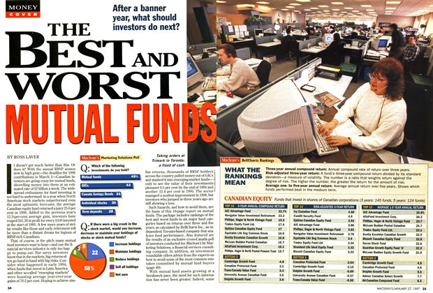 Article Preview: THE BEST AND WORST MUTUAL FUNDS, January 1997 | Maclean's