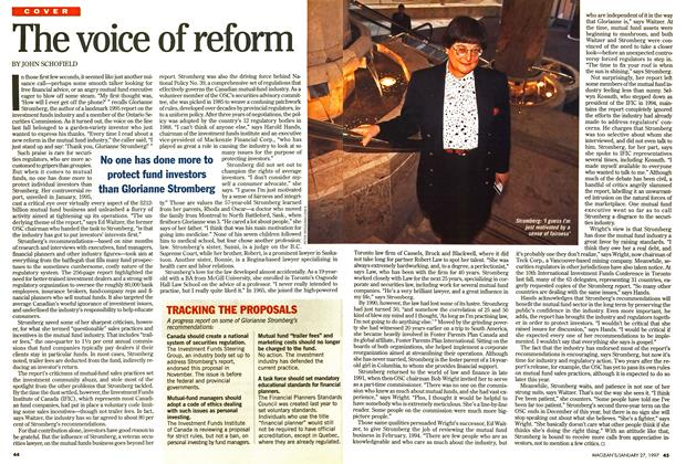 Article Preview: The voice of reform, January 1997 | Maclean's