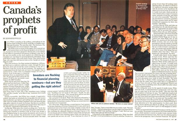 Article Preview: Canada's prophets of profit, January 1997 | Maclean's