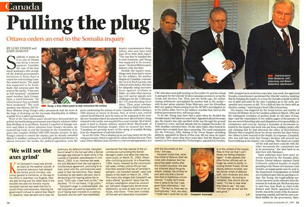 Article Preview: Pulling the plug, January 1997 | Maclean's