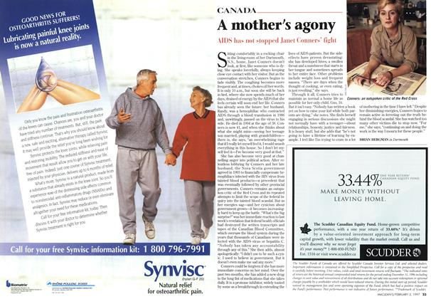 Article Preview: A mother's agony, February 1997 | Maclean's