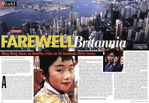 Article Preview: FAREWELL Britannia, February 1997 | Maclean's