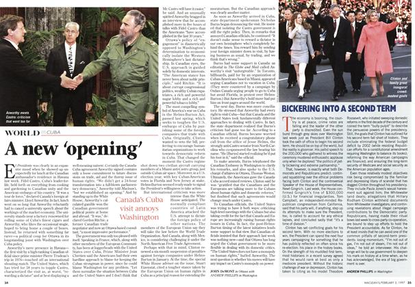 Article Preview: A new 'opening', February 1997 | Maclean's