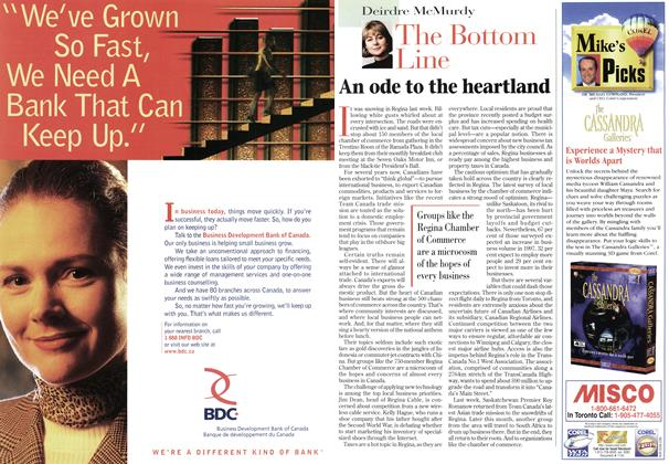 Article Preview: The Bottom Line, February 1997 | Maclean's