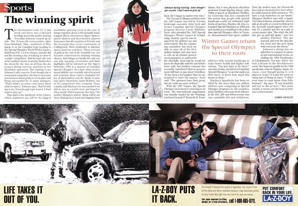 Article Preview: The winning spirit, February 1997 | Maclean's