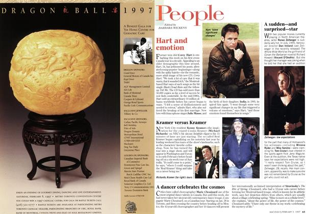 Article Preview: People, February 1997 | Maclean's