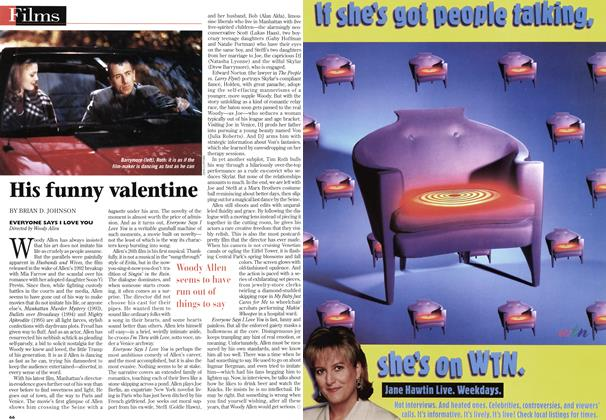 Article Preview: His funny valentine, February 1997 | Maclean's