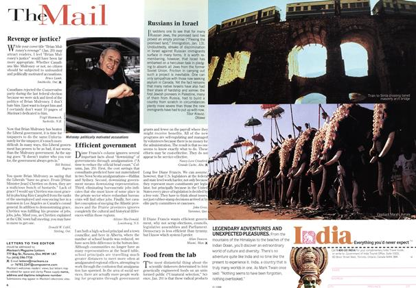 Article Preview: The Mail, February 1997 | Maclean's