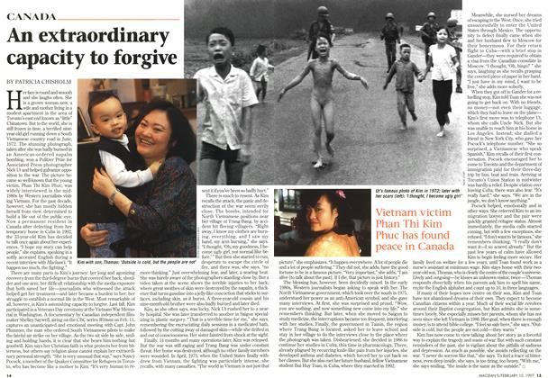 Article Preview: An extraordinary capacity to forgive, February 1997 | Maclean's