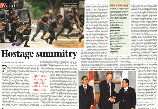 Article Preview: Hostage summitry, February 1997 | Maclean's