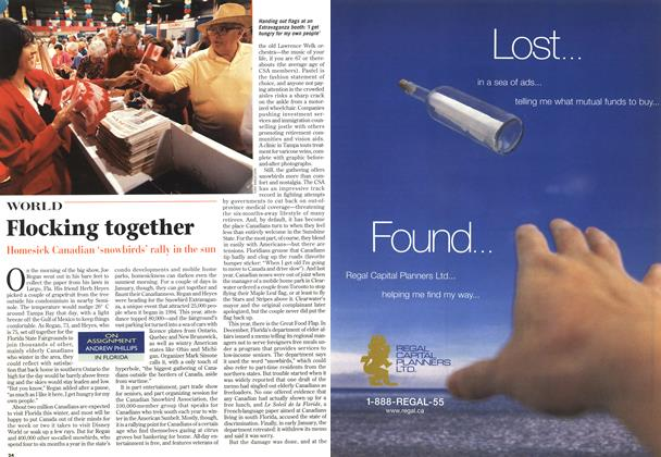 Article Preview: Flocking together, February 1997 | Maclean's