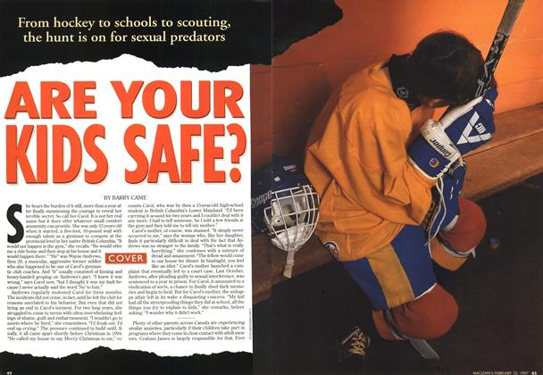 Article Preview: ARE YOUR KIDS SAFE?, February 1997 | Maclean's