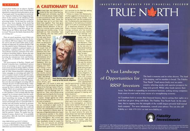 Article Preview: A CAUTIONARY TALE, February 1997 | Maclean's