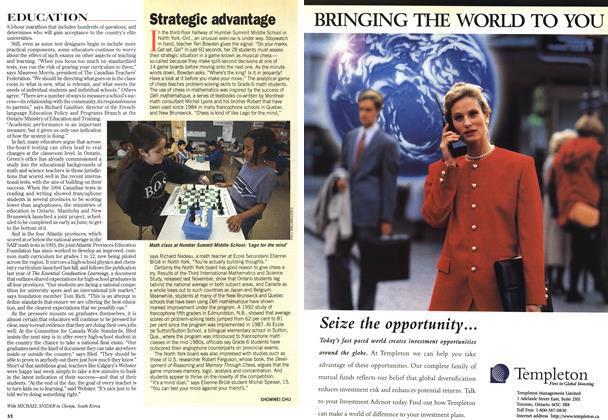 Article Preview: Strategic advantage, February 1997 | Maclean's