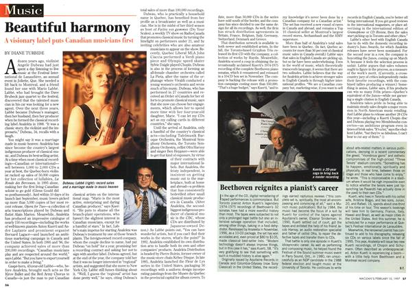 Article Preview: Beautiful harmony, February 1997 | Maclean's