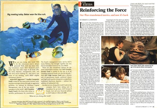 Article Preview: Reinforcing the Force, February 1997 | Maclean's
