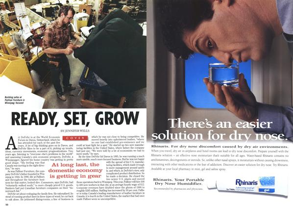 Article Preview: READY, SET, GROW, February 1997 | Maclean's