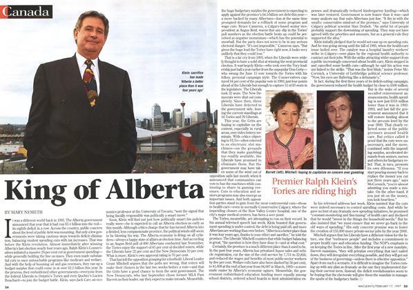 Article Preview: King of Alberta, February 1997 | Maclean's