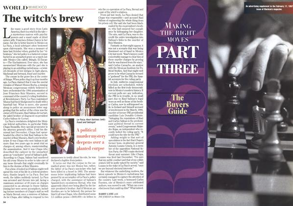 Article Preview: The witch's brew, February 1997 | Maclean's