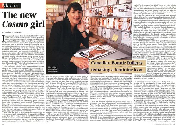 Article Preview: The new Cosmo girl, February 1997 | Maclean's