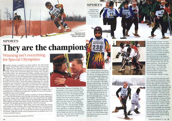 Article Preview: They are the champions, February 1997 | Maclean's