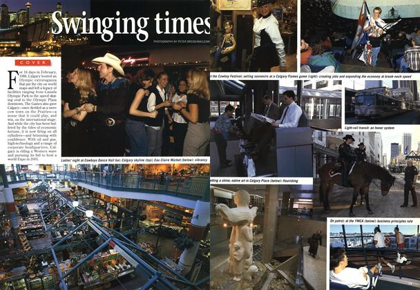 Article Preview: Swinging times, February 1997 | Maclean's