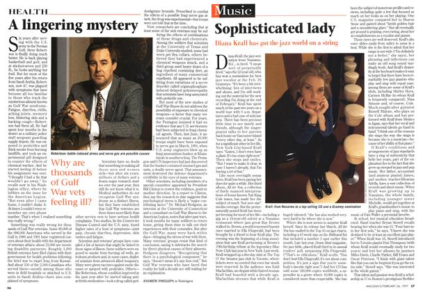 Article Preview: Sophisticated lady, February 1997 | Maclean's
