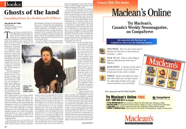 Article Preview: Ghosts of the land, February 1997 | Maclean's
