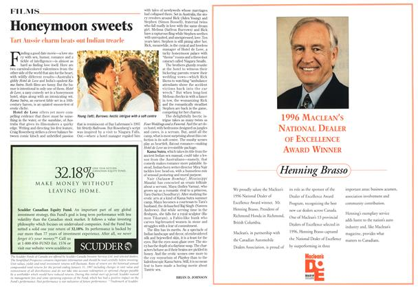 Article Preview: Honeymoon sweets, February 1997 | Maclean's
