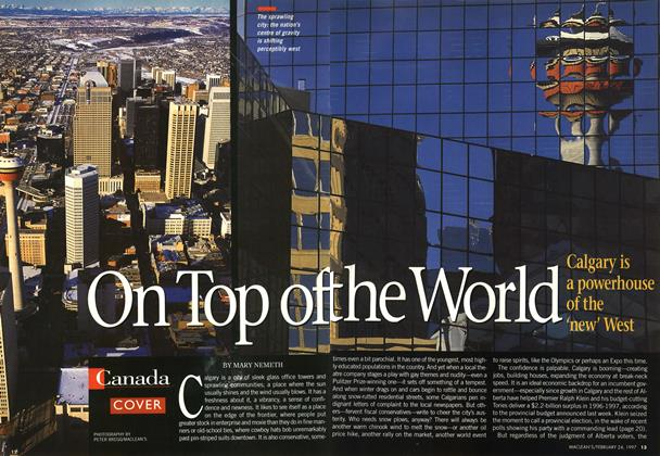 Article Preview: On Top of the World, February 1997 | Maclean's