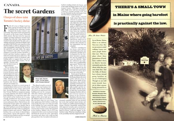 Article Preview: The secret Gardens, March 1997 | Maclean's