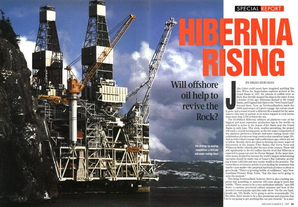 Article Preview: HIBERNIA RISING, March 1997 | Maclean's