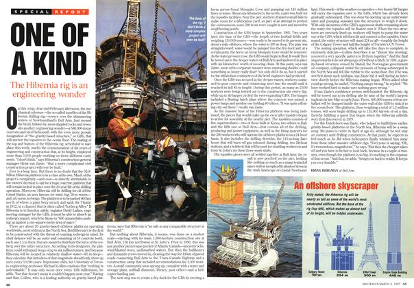 Article Preview: ONE OF A KIND, March 1997   Maclean's