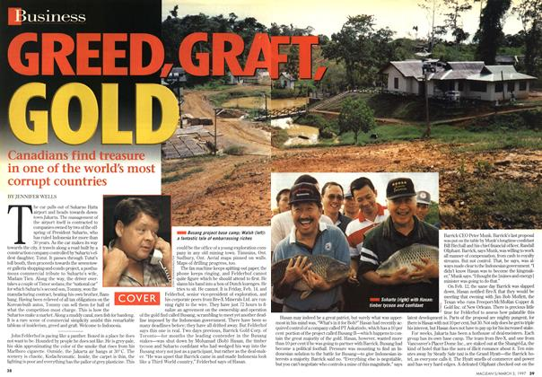 Article Preview: GREED, GRAFT, GOLD, March 1997 | Maclean's