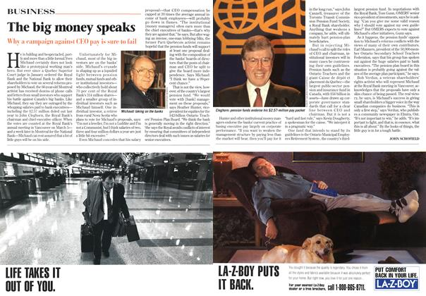 Article Preview: The big money speaks, March 1997 | Maclean's
