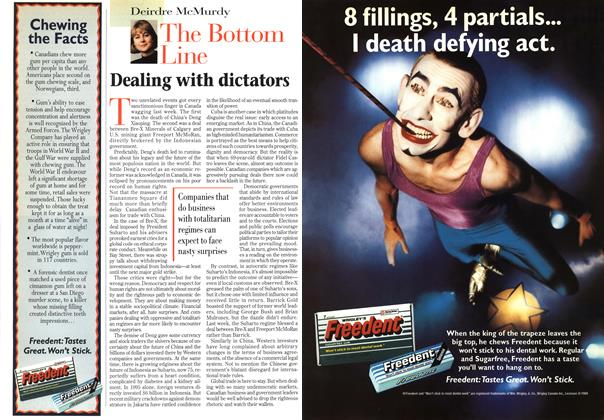 Article Preview: The Bottom Line, March 1997 | Maclean's