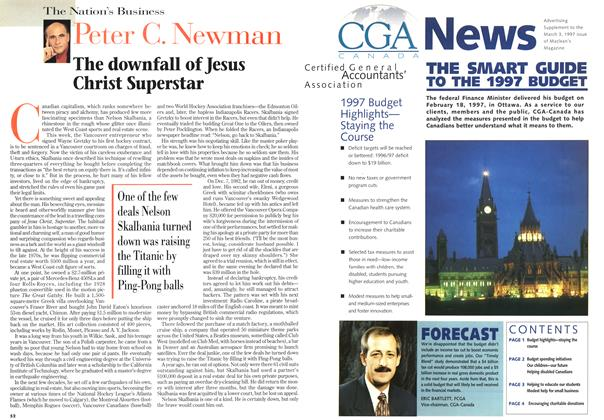 Article Preview: The downfall of Jesus Christ Superstar, March 1997 | Maclean's