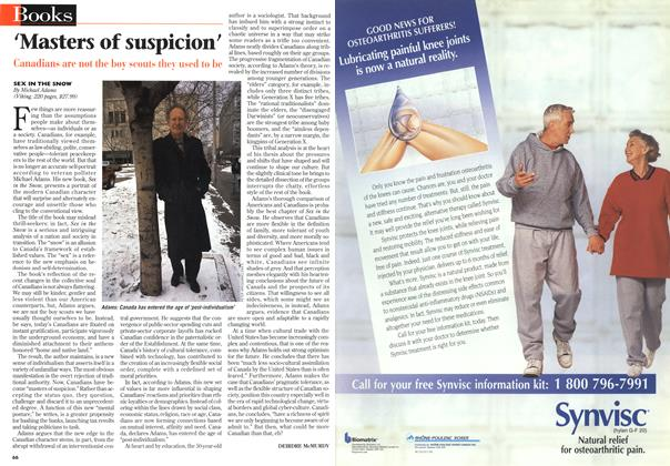 Article Preview: 'Masters of suspicion', March 1997 | Maclean's