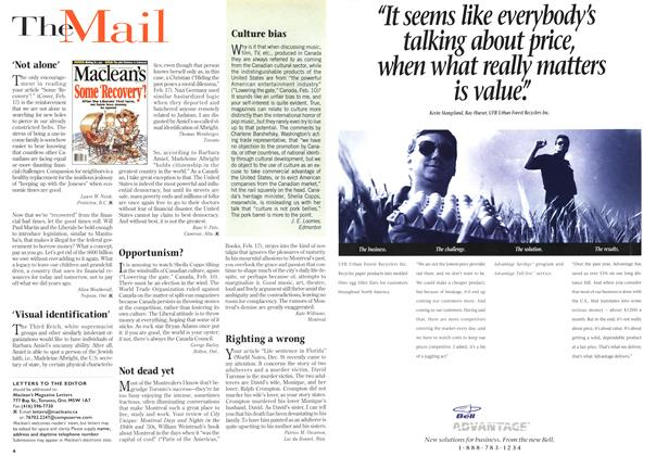 Article Preview: The Mail, March 1997 | Maclean's
