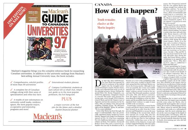 Article Preview: How did it happen?, March 1997 | Maclean's