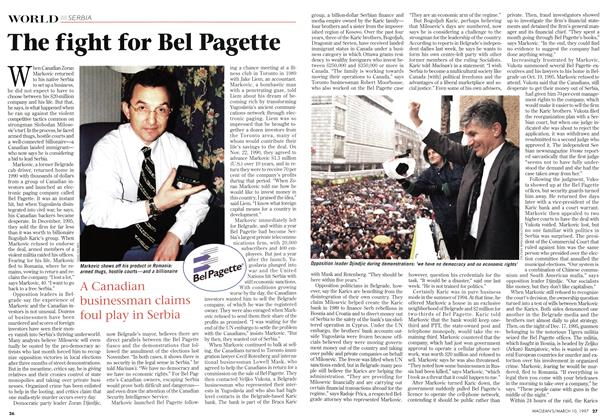Article Preview: The fight for Bel Pagette, March 1997 | Maclean's